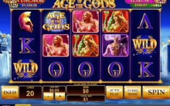 Age of the Gods Spin A Win gelanceerd!